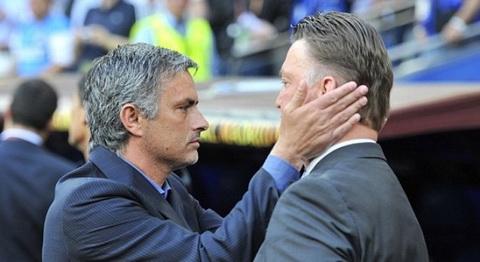 Van Gaal vs Mourinho Giao lo te hai hinh anh