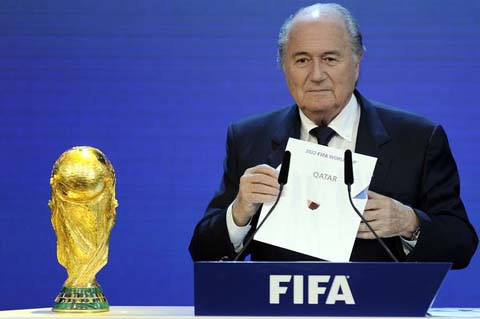 FIFA phui trach nhiem truoc nan chet nguoi tren cong truong xay dung World Cup 2022 hinh anh