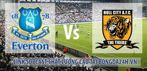Link sopcast  Everton vs Hull City (02h45-0412) hinh anh