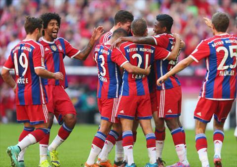Bayern Munich vo dich Bundesliga Chi con la van de thoi gian hinh anh