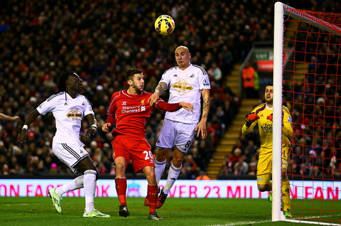 Video ban thang Liverpool 4-1 Swansea (Vong 19 Premier League) hinh anh