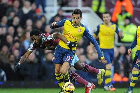 Alexis Sanchez khong nen da cam tren hang cong Arsenal hinh anh