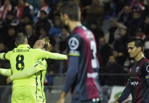 Video ban thang Huesca 0-4 Barcelona (Cup Nha vua TBN) hinh anh