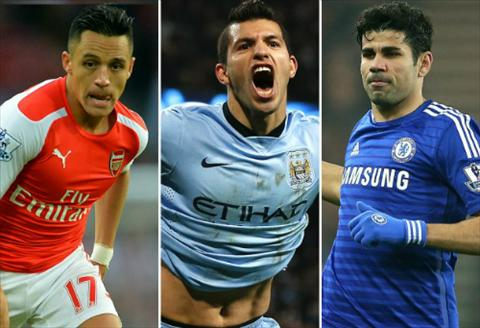 Cuoc dua Vua pha luoi Premier League 2014-2015 Diego Costa khong troi bang Alexis hinh anh