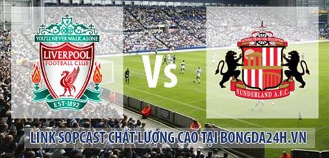 Link sopcast Liverpool vs Sunderland (22h00-0612) hinh anh