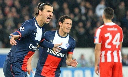 PSG 1-1 Arsenal, tien dao Edinson Cavani, hang cong PSG hinh anh 3