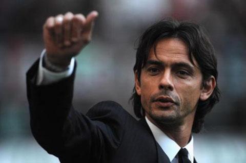 CHINH THUC AC Milan sa thai Filippo Inzaghi hinh anh