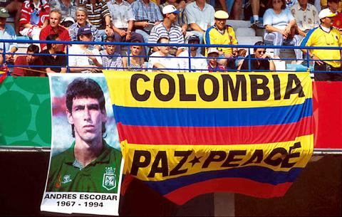 Colombia ngo ngang sau cai chet cua Andres Escobar
