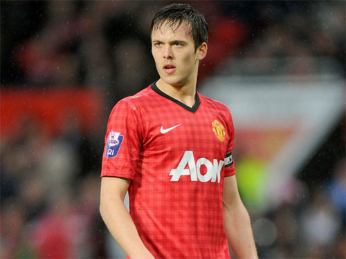 Tom Thorpe dang la trung ve tru cot cua doi U21 Man Utd