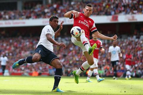 Arsenal vs Tottenham chung cảnh ngộ hình ảnh