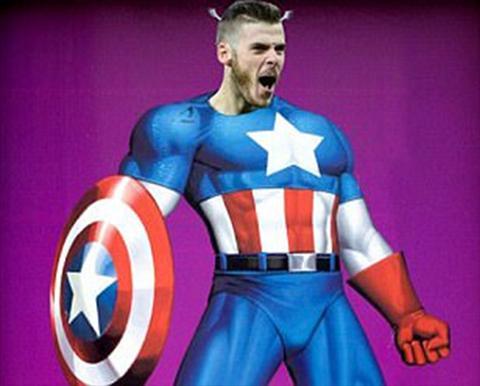 David De Gea tu vi minh voi… Captain America hinh anh 2