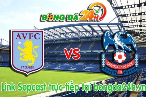 Link sopcast Aston Villa vs Crystal Palace (22h00-0101) hinh anh