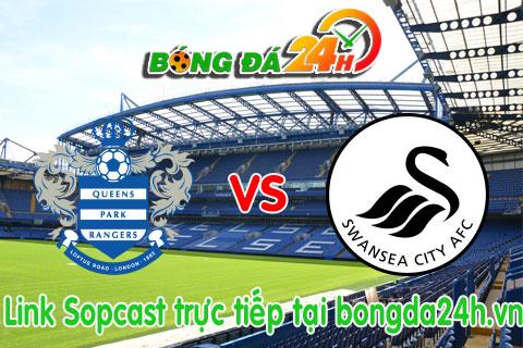 Link sopcast QPR vs Swansea  (22h00-0101) hinh anh