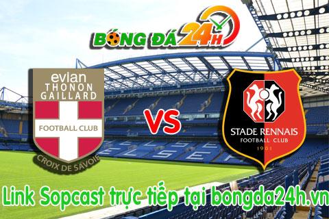 Link sopcast Evian TG vs Rennes (02h00-1101) hinh anh