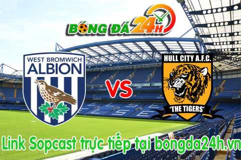 Link sopcast West Bromwich vs Hull (22h00-1001) hinh anh