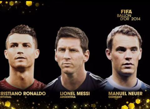 QBV FIFA 2014 Neuer xung dang hon Ronaldo va Messi hinh anh