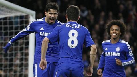 Du am tran Chelsea vs Newcastle, Oscar toa sang hinh anh