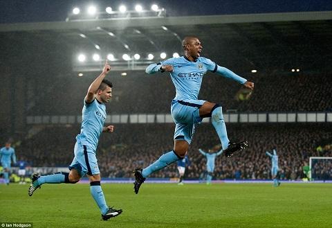 Everton vs Man City hinh anh