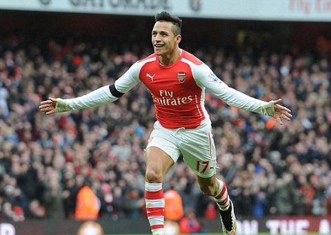 Du am Arsenal 3-0 Stoke City Mot tay Sanchez lam nen tat ca hinh anh