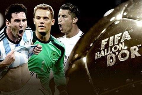 Qua Bong Vang FIFA 2014 Cuoc chien cua Ronaldo va Neuer hinh anh