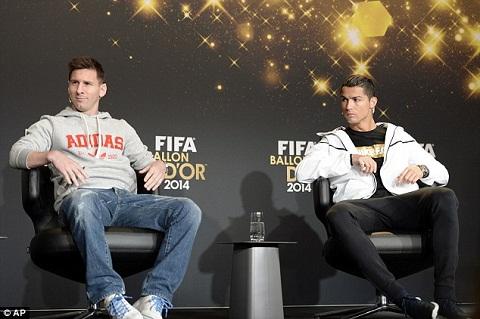QBV FIFA 2014 Sau 7 nam, tat ca van nam duoi chan Ronaldo va Messi hinh anh