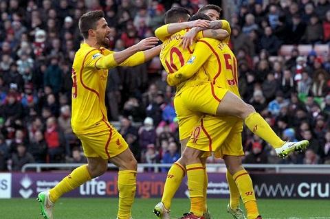 Aston Villa vs Liverpool 22h00 ngay 171 Mung Sturridge tro lai hinh anh