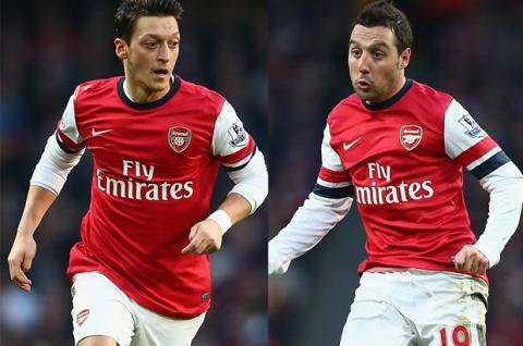 Ozil hay Cazorla se tro thanh linh hon cua hang tien ve Arsenal hinh anh