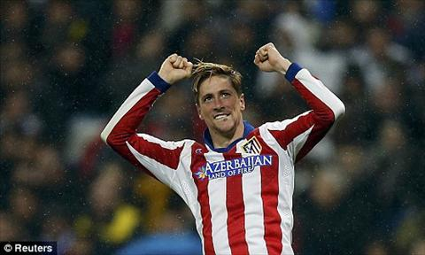 Real 2-2 Atletico Diego Simeone het loi khen ngoi Torres hinh anh