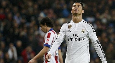 Ronaldo va Real tiep tuc guc nga truoc Atletico