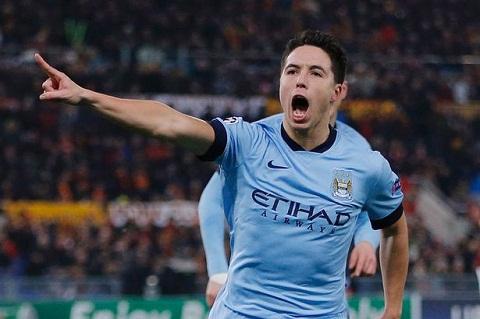 Tien ve Samir Nasri sap roi Man City toi Serie A choi bong hinh anh