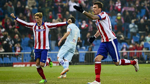 Atletico 2-0 Granada Torres mo nhat, DKVD van thang hinh anh