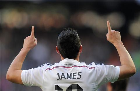 James Rodriguez Chien binh tham lang cua Los Blancos hinh anh