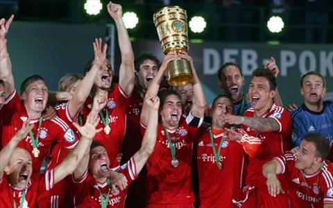 Ribery om mong an ba cung Bayern o mua giai nam nay hinh anh