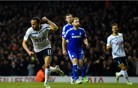 Video ban thang Tottenham 5-3 Chelsea (Vong 20 Premier League) hinh anh