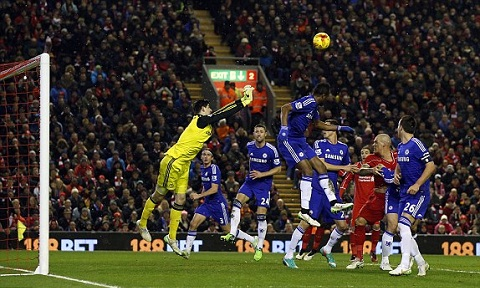 Video ban thang Liverpool 1-1 Chelsea (Ban ket cup Lien doan Anh) hinh anh