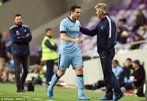 Lampard co nguy co lo dai chien Chelsea vs Man City hinh anh