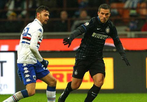 Video ban thang Inter 2-0 Sampdoria (Cup Quoc gia Italia) hinh anh