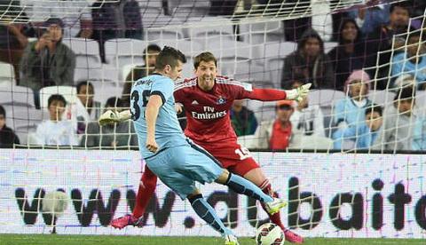 Video ban thang Man City 2-0 Hamburg (Giao huu) hinh anh