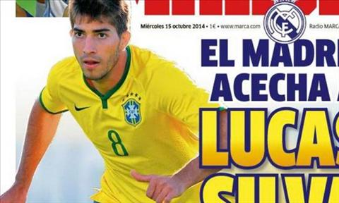 Real chieu mo Lucas Silva de chia lua cho Toni Kroos hinh anh
