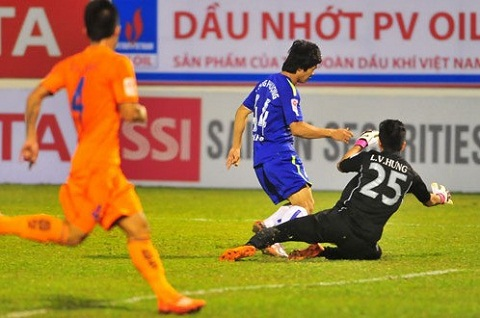 Hau HAGL vs Da Nang Cong Phuong an va kiem penalty hinh anh