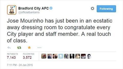 Jose Mourinho go diem voi CDV sau tran thua nhuc o FA Cup hinh anh