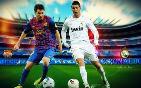 Messi-Ronaldo Hai cam xuc doi lap hinh anh