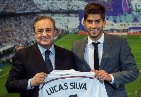 Vua chan uot chan rao toi Real, Lucas Silva voi vang lay long Ronaldo hinh anh
