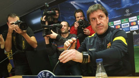 Jordi Roura duoc bo nhiem lam Giam doc the thao cua Barcelona hinh anh