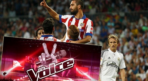 Sat thu Atletico tung tieu diet Real khoe giong tai cuoc thi The Voice hinh anh