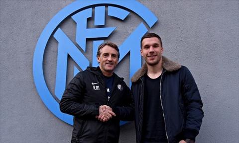 Vua sang Inter Milan, Lukas Podolski da bi da deu hinh anh