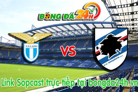 Link sopcast Lazio vs Sampdoria (02h45-0601) hinh anh