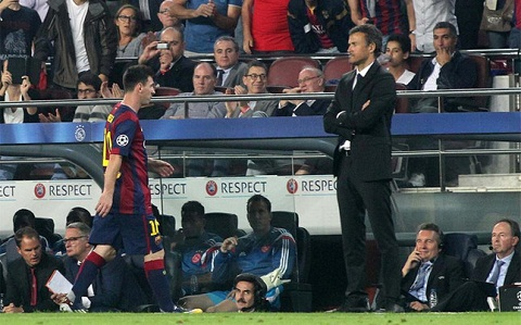Goc nhin Neu Lionel Messi roi… Barcelona hinh anh