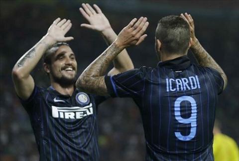 Sao Inter Milan suyt tan dong doi trong tran dau voi Juventus hinh anh