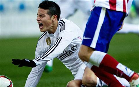 James Rodriguez van cay cu trong tai sau tran thua Atletico hinh anh